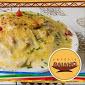 Fettuccine Camarão ao molho 4 queijos