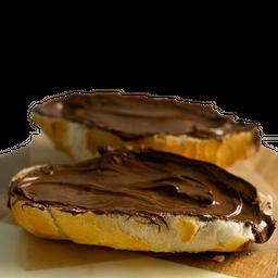 Pão com Nutella