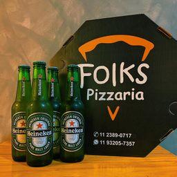 Heineken + Pizza Grande