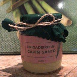 Brigadeiro Capim Santo
