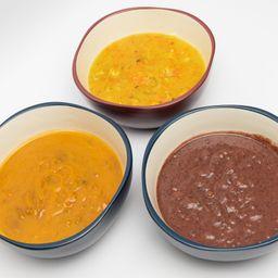 Sopa de Feijão Vermelho Vegana