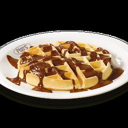Waffle com Ciocolatta ou Creme de Avelã