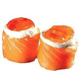 Joe de salmão com haddock crocante (10unidade)