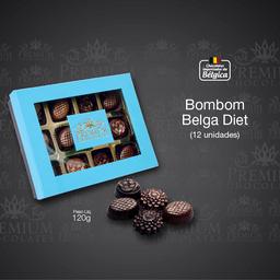 Caixa Bombom Belga Diet - 120g
