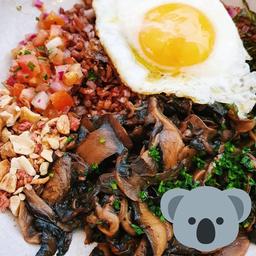 Picadinho de Cogumelos Vegetariano