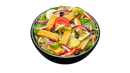 Salada de Frango Empanado