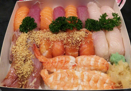 Sushi Arte Kibito - 28 Peças e 2 Harumakis