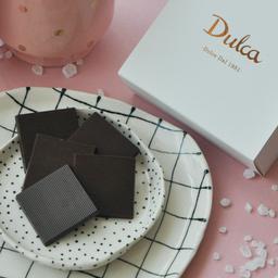 Pastilhas de Chocolate 70% Cacau com Flor de Sal