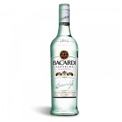 Rum Bacardi Prata Superior 980ml