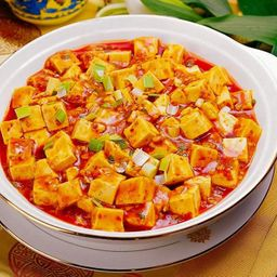 麻婆豆腐 Tofu Apimentado