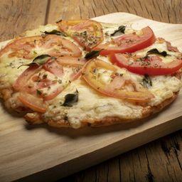 Pizza de Massa de Pão de Queijo de Margherita
