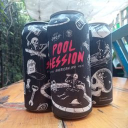 Pool Session - American IPA - Locals Only - 473ml.