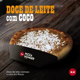 Pizza de Doce de Leite com Coco - Broto
