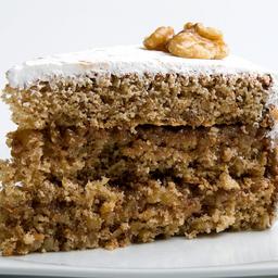Nozes - fatia | torta dalena