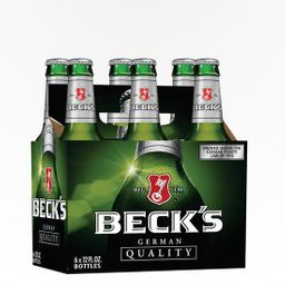 6 Unidades Cerveja Becks 330ml
