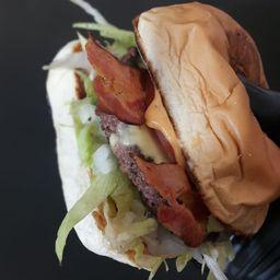 Combo Peppe Mega Hambúrguer Bacon