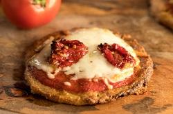 Pizza De Queijo De Búfala