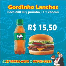 1 X- Bacon + Juninho 200ml