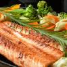 Teppan salmão