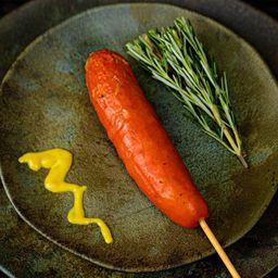 Espetinho de Salsichão