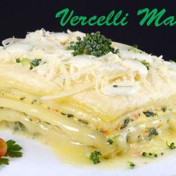Lasagne vegetariana congelada