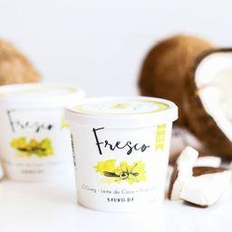 Iogurte de Coco Fresco - Baunilha