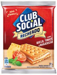Club Social Recheado Queijo, Tomate, Manjericão