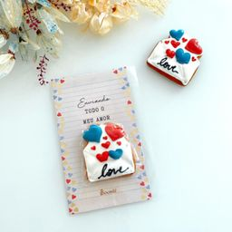 Cookie Card Amor