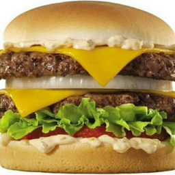 Hambúrguer artesanal 2 carne