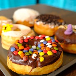 Donut ring crocante doce de leite