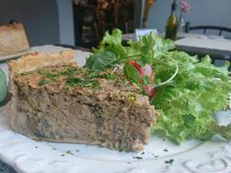 Torta de Cogumelo com Alho-Poró