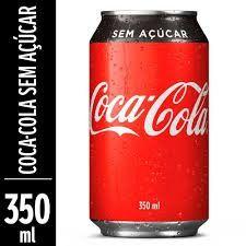 Coca-Cola sem Açúcar- Lata 350 ml