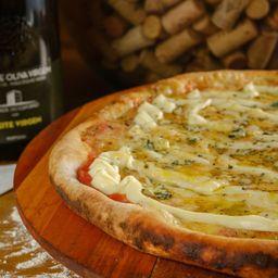 Pizza Salgada Meio a Meio - Broto