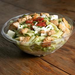 Salada Penne com frango
