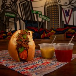 Hot dog com chilli
