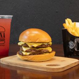 Combo Smash Burger