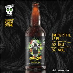 One Love - Imperial Ipa - 600ml - Overhop