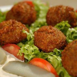 Petiscos - mini falafel