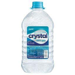 Agua min s/gas 5l crystal