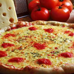 Combo Pizza Mussarela Grande e Refrigerante 1L