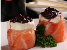 Joio Salmon com Amora