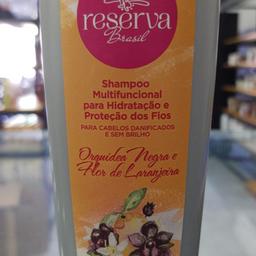 Shampoo multifuncional 360ml - reserva brasil