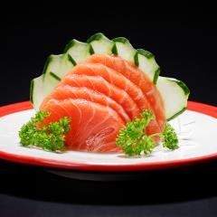 Sashimi de Salmão - 5 Unidade