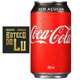 Coca Zero Lata 350 ml