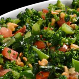 Brócolis no Alho, Oleo e Tomate