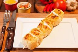 Espettinho de Pão de Alho