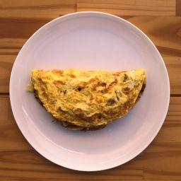 Monte Seu Omelete Veggiie