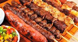 Espetinho de Carne No Palito