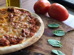 Pizza Ragú de Linguiça
