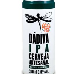 Cerveja Dádiva IPA Glúten Free  310ml
